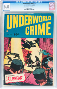 Underworld Crime #2 (Fawcett Publications, 1952) CGC FN 6.0 Cream to off-white pages