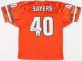 Football Collectibles:Uniforms, Gale Sayers Signed Chicago Bears Jersey....