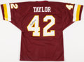 Football Collectibles:Uniforms, Charley Taylor Signed Washington Redskins Jersey....