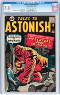 Silver Age (1956-1969):Horror, Tales to Astonish #25 (Marvel, 1961) CGC FN/VF 7.0 Cream tooff-white pages....