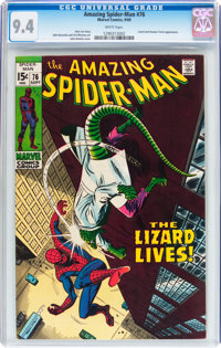 The Amazing Spider-Man #76 (Marvel, 1969) CGC NM 9.4 White pages