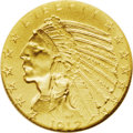 Proof Indian Half Eagles: , 1912 $5 PR67 NGC. Struck in the bright yellow matte finish that produces perfectly even color and surface texture. Putting ...
