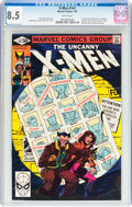 Modern Age (1980-Present):Superhero, X-Men #141 (Marvel, 1981) CGC VF+ 8.5 White pages....