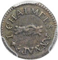 Colonials, 1783 3PENCE Chalmers Threepence XF40 PCGS. Breen-1018, W-1760, R.5....