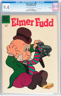 Four Color #938 Elmer Fudd - File Copy (Dell, 1958) CGC NM 9.4 Off-white to white pages