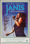 "Movie Posters:Rock and Roll, Janis (CIC, 1975). Australian One Sheet (27"" X 40""). Rock andRoll.. ..."