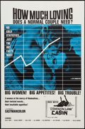 "Movie Posters:Sexploitation, Common Law Cabin (Eve Productions, 1967). One Sheet (27"" X 41"").Sexploitation.. ..."