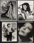 """Movie Posters:Miscellaneous, Barbara Stanwyck & Others Photo Lot (Various, 1930s-1940s). Original and Restrike Photos (4) (10"""" X 13"""", 11"""" X 14""""). Miscell... (Total: 4 Items)"""