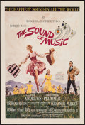 "Movie Posters:Academy Award Winners, The Sound of Music (20th Century Fox, 1965). Trimmed Window Card(14"" X 19.75""). Academy Award Winners.. ..."