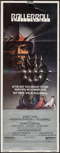 "Movie Posters:Science Fiction, Rollerball (United Artists, 1975). Insert (14"" X 36""). Science Fiction.. ..."