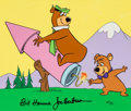 Animation Art:Seriograph, Yogi Bear and Boo-Boo Bear Limited Edition Cel Animation Art AP #6/20 (Hanna-Barbera, 1989)....