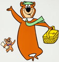 Animation Art:Color Model, Yogi Bear and Boo-Boo Color Model Animation Art(Hanna-Barbera, 1960-70s)....