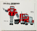 Animation Art:Color Model, Challenge of the GoBots Staks Color Model Animation Art(Hanna-Barbera, 1984)....
