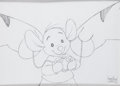 Animation Art:Production Drawing, The Tigger Movie Roo Production Drawing Animation Art (WaltDisney, 2000)....