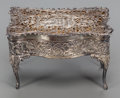 Silver Holloware, British:Holloware, A WILLIAM COMYNS & SONS SILVER AND SILVER GILT BOX, London, England , circa 1903-1904. Marks: (lion passant), (leopard's hea...