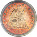 Proof Seated Quarters, 1880 25C PR66 Cameo PCGS....