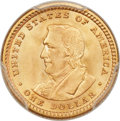 Commemorative Gold, 1905 G$1 Lewis and Clark MS67 PCGS....