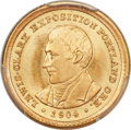 Commemorative Gold, 1904 G$1 Lewis and Clark MS67 PCGS. CAC....