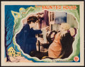 "Movie Posters:Horror, The Haunted House (First National, 1928). Lobby Card (11"" X 14""). Horror.. ..."
