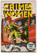 Golden Age (1938-1955):Crime, Crimes by Women #54 (Fox Features Syndicate, 1954) Condition:FN....