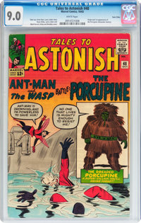 Tales to Astonish #48 Twin Cities pedigree (Marvel, 1963) CGC VF/NM 9.0 White pages