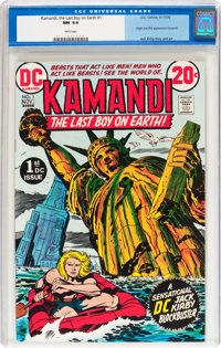 Kamandi, the Last Boy on Earth #1 (DC, 1972) CGC NM 9.4 White pages