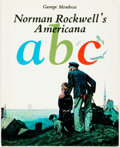 Books:Children's Books, Norman Rockwell, illustrator. George Mendoza. SIGNED/LIMITED.Norman Rockwell's Americana ABC. Dell Publishing Co., ...
