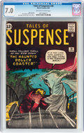 Silver Age (1956-1969):Horror, Tales of Suspense #30 (Marvel, 1962) CGC FN/VF 7.0 Off-white towhite pages....