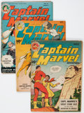 Golden Age (1938-1955):Superhero, Captain Marvel Adventures Group (Fawcett Publications, 1944-53) Condition: Average GD.... (Total: 17 Comic Books)