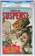 Silver Age (1956-1969):Science Fiction, Tales of Suspense #19 (Marvel, 1961) CGC FN/VF 7.0 Off-white towhite pages....