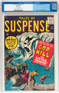 Silver Age (1956-1969):Horror, Tales of Suspense #12 (Marvel, 1960) CGC VF- 7.5 Cream to off-whitepages....