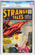 Silver Age (1956-1969):Horror, Strange Tales #68 (Marvel, 1959) CGC VG/FN 5.0 Off-white pages....