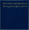 Books:Art & Architecture, [Chateau Mouton Rothschild]. SIGNED. Mouton Rothschild: Paintings for the Labels, 1945 - 1981. Boston: Little, Brown...