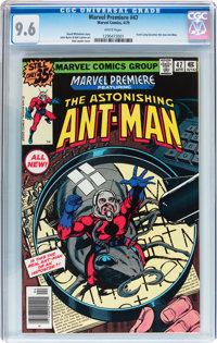 Marvel Premiere #47 Ant-Man (Marvel, 1979) CGC NM+ 9.6 White pages