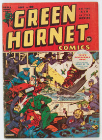 Green Hornet Comics #20 (Harvey, 1944) Condition: VG/FN