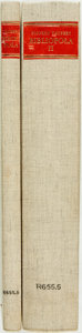 Books:Reference & Bibliography, Sigfred Taubert. Bibliopola, vols I & II. New York: R.R. Bowker Company, [1966].... (Total: 2 Items)