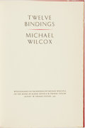 Books:Books about Books, Michael Wilcox. LIMITED. Twelve Bindings. Austin: W. ThomasTaylor, 1985. Limited to 225 numbered copies....