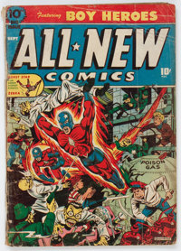 All-New Comics #10 (Harvey, 1944) Condition: GD