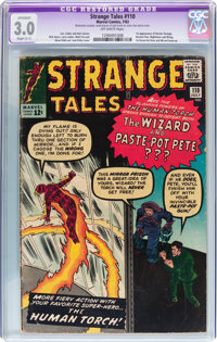 Strange Tales #110 (Marvel, 1963) CGC Apparent GD/VG 3.0 Slight (C-1) Off-white pages