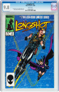 Modern Age (1980-Present):Superhero, Longshot #2 (Marvel, 1985) CGC NM/MT 9.8 White pages....