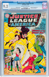 Justice League of America #23 (DC, 1963) CGC NM- 9.2 Off-white to white pages
