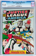 Silver Age (1956-1969):Superhero, Justice League of America #15 (DC, 1962) CGC VF/NM 9.0 Off-white to white pages....