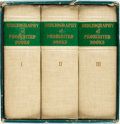 Books:Reference & Bibliography, Pisanus Fraxi. Bibliography of Prohibited Books, Vols.I-III. New York: Jack Brussel, 1962. Edition De Luxe,limited... (Total: 3 Items)