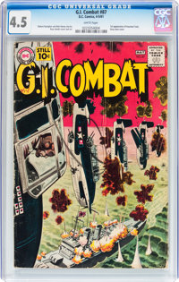 G.I. Combat #87 (DC, 1961) CGC VG+ 4.5 White pages