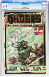 Ghosts #2 (DC, 1971) CGC NM 9.4 Off-white to white pages