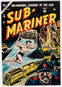 Sub-Mariner Comics #36 (Timely, 1954) Condition: Apparent FN
