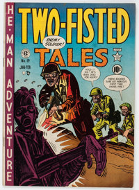 Two-Fisted Tales #19 (EC, 1951) Condition: VG