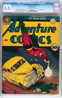 Adventure Comics #70 (DC, 1942) CGC VG- 3.5 Cream to off-white pages