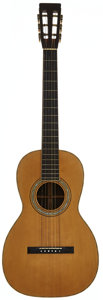 Musical Instruments:Acoustic Guitars, 1880's Martin 2-27 Natural Acoustic Guitar....
