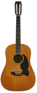 Musical Instruments:Acoustic Guitars, 1967 Martin D-12-35 Natural Acoustic Guitar, Serial # 220492....